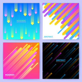 Minimal geometric vector backdrops. Trendy posters with abstract color shapes and lines. Banner woth trendy dynamic color pattern illustration. Minimal geometric vector backdrops. Trendy posters with abstract color shapes and lines