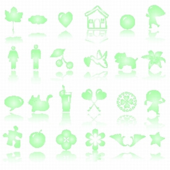 cute icons collection for kids