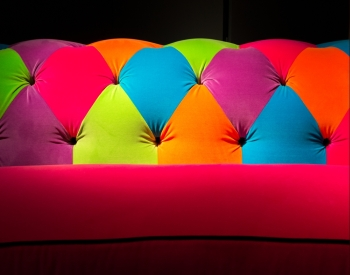 Multi-colored Vibrant Sofa