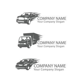 car transportation vehicle logo. car transportation vehicle logo vector