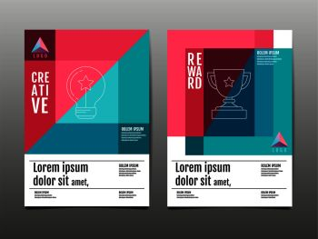 cover design, template layout design, annual report, future, business, book. vector colorful, infographic,