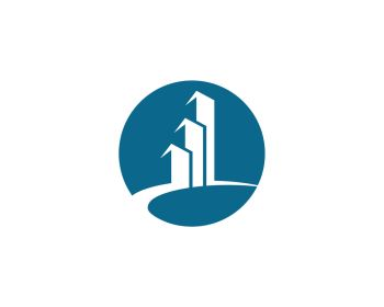 Property and Construction Logo design. Real Estate , Property and Construction Logo design