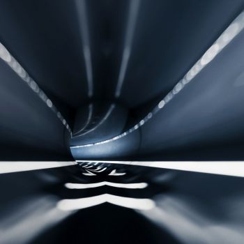 Tunnel road transportation. 3d rendering. Tunnel road transportation