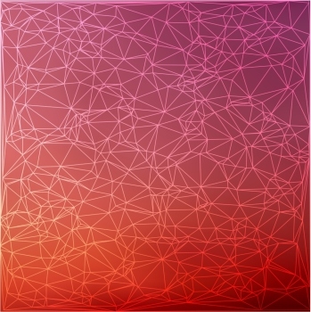 abstract thin line polygonal triangle, light background